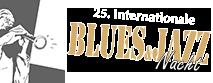Das Logo der Blues und Jazz-Nacht